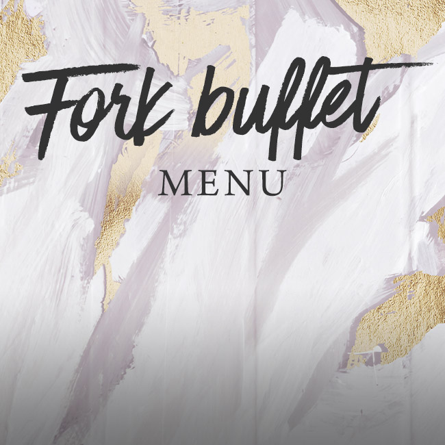 Fork buffet menu at The Caversham Rose